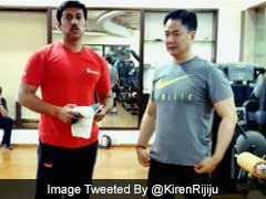 Kiren Rijiju, Rajyavardhan Rathore Set #FitnessGoals With Workout Videos