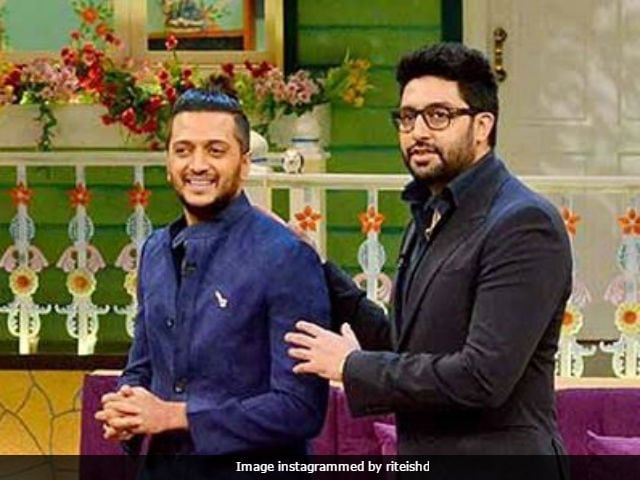 Riteish Deshmukh Shares An Adorable Throwback Picture Of Abhishek Bachchan
