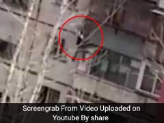 He Fell From 4th-Floor Balcony In Terrifying Video