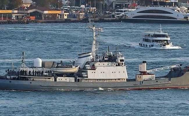Russian Navy Vessel Sinks After Collision Off Turkey, 78 Evacuated