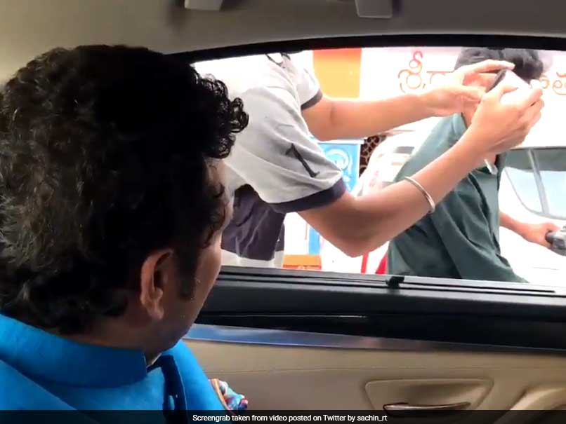 Sachin Tendulkar Pulls Up Law-Breaking Bikers, Asks Them To Wear Helmets
