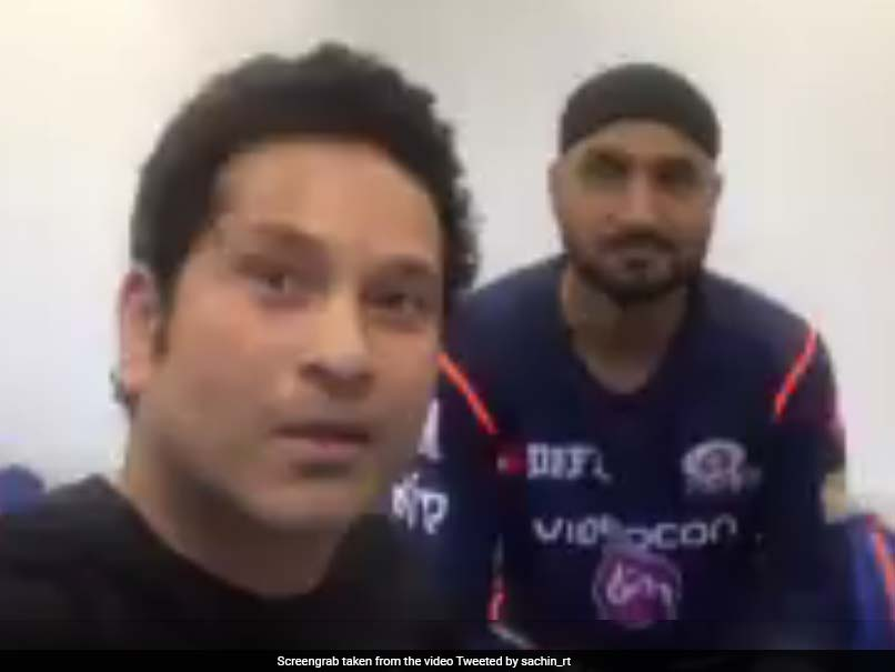 IPL 2017: Sachin Tendulkar Wishes Mumbai Indians The Best For Season 10