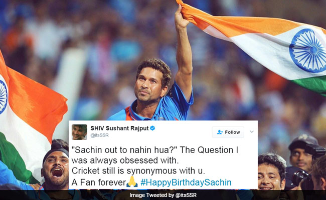 #HappyBirthdaySachin: A Billion Wishes Pour In For The Legend On Twitter