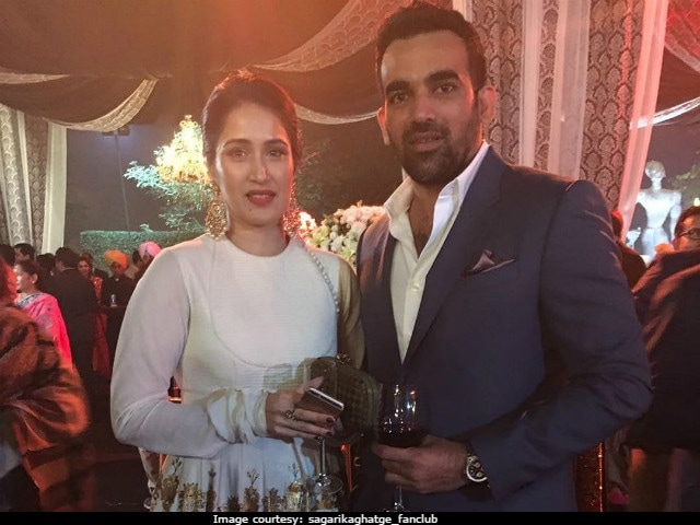 Zaheer Khan And Sagarika Ghatge Are Engaged. See Pic