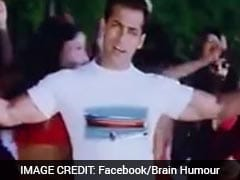You Can't Miss Salman Khan Dancing To 'Shape Of You' In This Killer Mashup