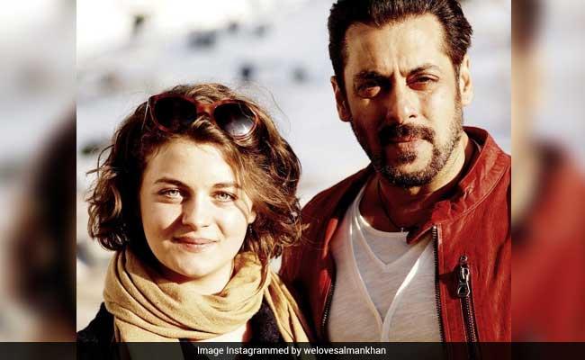 सलमान खान के साथ 'टाइगर जिंदा है' में नजर आ सकती हैं प्लेबॉय मॉडल रॉन्या फोर्शर