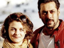 Trending: Salman Khan's Pic With Playboy Model Ronja Forcher From <I>Tiger Zinda Hai</i> Sets