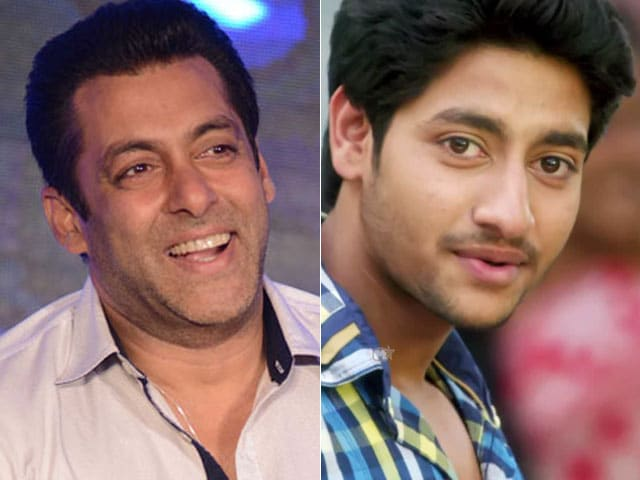Salman Khan Announces Sairat  Actor Akash Thosar's Second Film FU