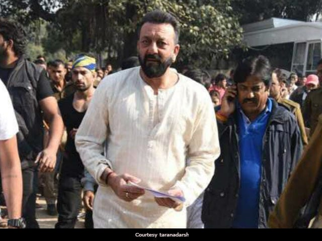 Have You Seen Sanjay Dutt's At-Work Pic From The Sets Of Bhoomi?