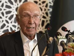 Pakistan Will Not Accept Any Talks With India That Exclude Kashmir: Sartaj Aziz