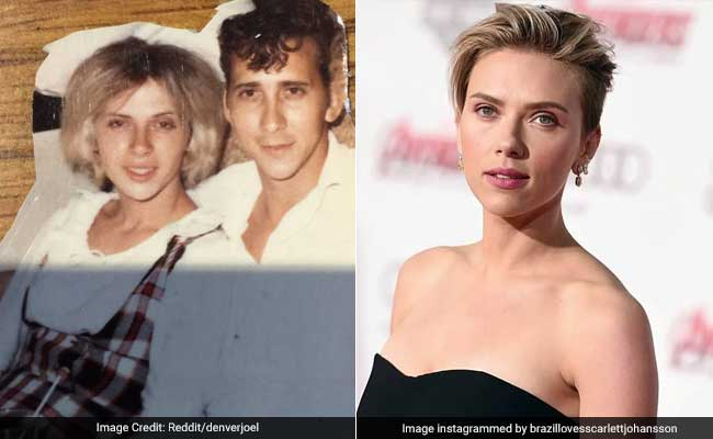 Scarlett Johansson Invites Her Grandma Lookalike For A Drink. She Accepts