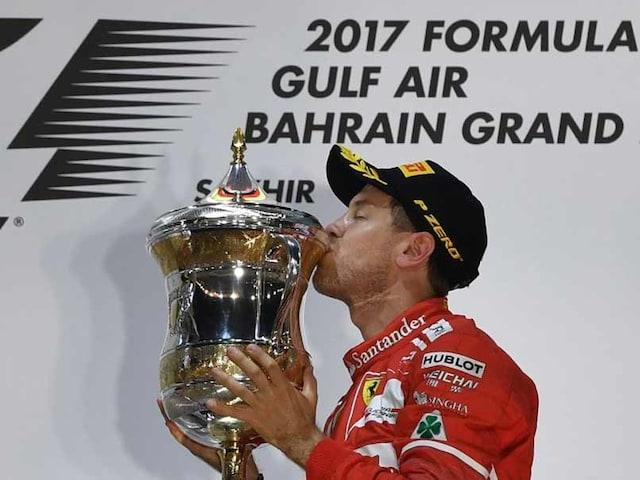 Sebastian Vettel Wins Bahrain Grand Prix As Lewis Hamilton Pays Penalty