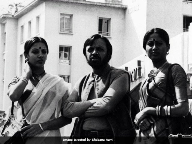 Shabana Azmi Shares Throwback Pic Of Cannes With Smita Patil And Shyam Benegal