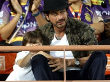 Indian Premier League: Shah Rukh Khan And AbRam's Tattoo Is Twitter's Latest Crush