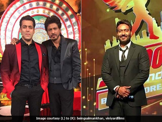 Shah Rukh Khan Vs Ajay Devgn Again? Both Want Trailers Out With Salman Khan's Tubelight