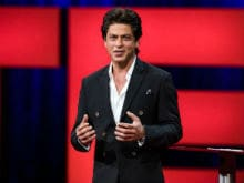 Shah Rukh Khan Tells TED Talks, 'Humanity Is An Ageing Movie Star Like Me'