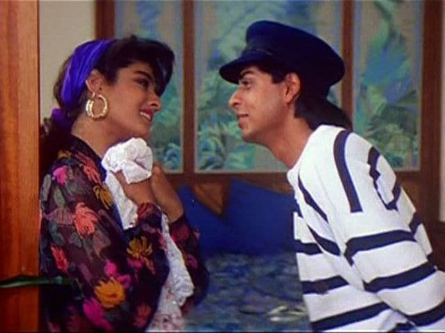Shah Rukh Khan, Raveena Tandon In This Flashback Pic. 'Those Were The Days'