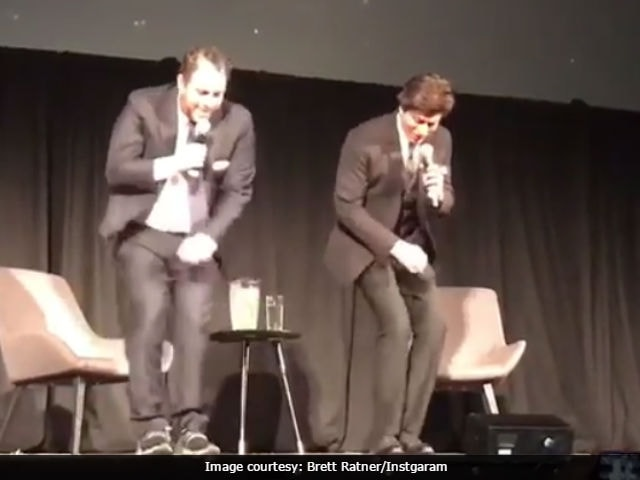 Shah Rukh Khan Danced With Brett Ratner To Lungi Dance. Watch Video