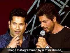 Miss My Guiding Light, Tweets Shah Rukh Khan To Sachin Tendulkar