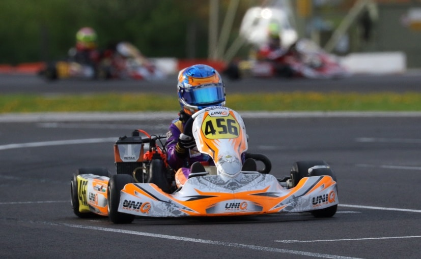 National Karting Champion Shahan Ali Mohsin Bags First Podium In Europe