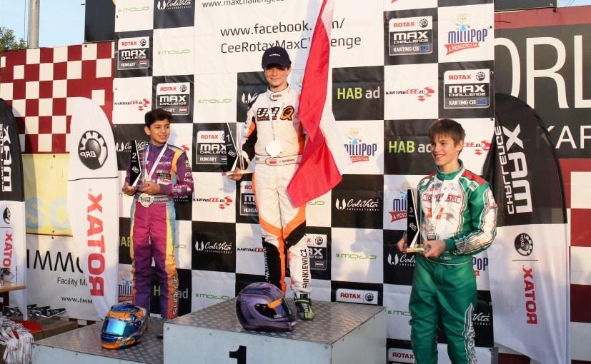 shahan ali mohsin karting championship europe
