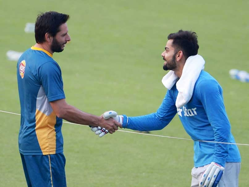 After Jersey, Virat Kohli Gifts A Bat To Shahid Afridi. Here's Why