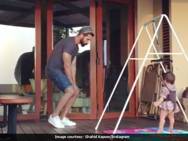 Shahid Kapoor And Daughter Misha 'Dance Like MJ' On World Dance Day