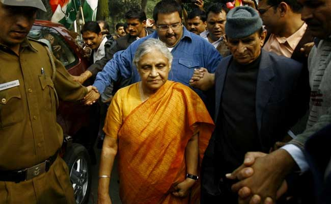 Ex-Chief Minister Sheila Dikshit May Be Made Delhi Congress Chief: Report