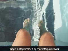 The 40-Floor-High Suspended Pool In Houston Is Only For The Brave