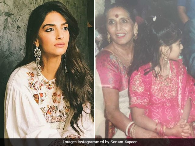 Sonam Kapoor Posts Emotional Message For Late Grandmother