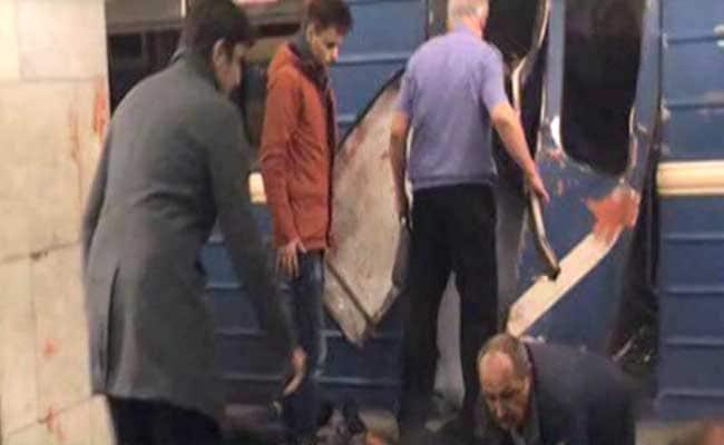 रूस में सेंट पीटर्सबर्ग के मेट्रो स्टेशन पर जोरदार धमाके, 10 लोगों की मौत, कई घायल