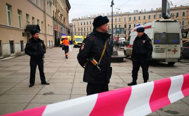 Loud Explosion Heard In St Petersburg Building, No One Hurt