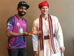IPL 2017: Watch How Steve Smith Transformed Into A Maratha!