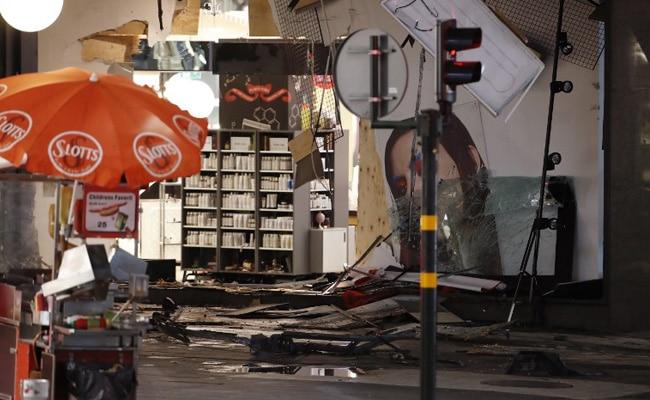 stockholm truck crash afp