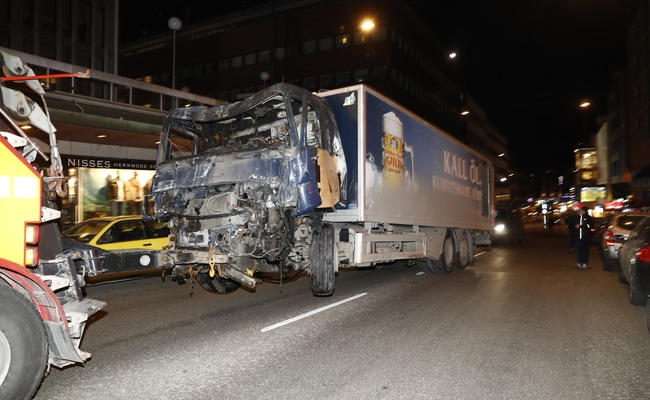 Stockholm Terror Attack: 1 Arrested After 4 Killed By Truck Driven Into Crowd In Stockholm