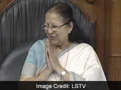 Happy Birthday, Madam Speaker! MPs Serenade Sumitra Mahajan In Parliament