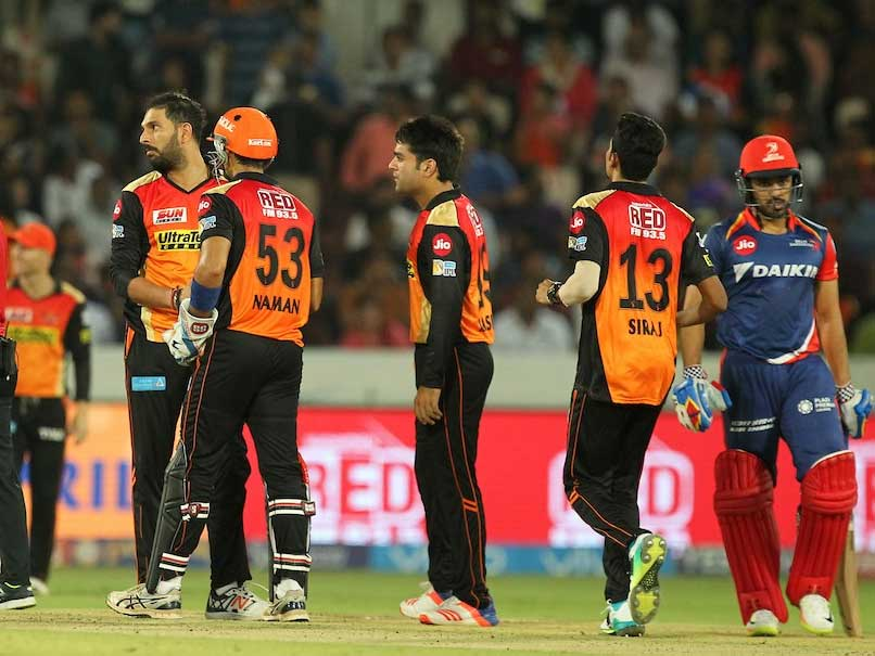 IPL 2017: Sunrisers Hyderabad Edge Out Delhi Daredevils By 15 Runs