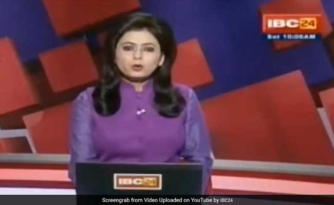 Chhattisgarh Anchor Learnt Of Husband's Fatal Crash On Live TV. She Read Out The News