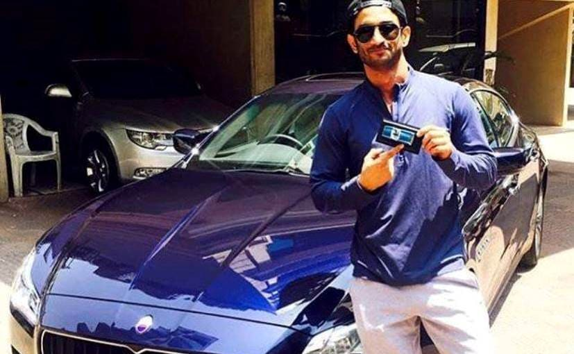 MS Dhoni Actor Sushant Singh Rajput Buys A Brand New Maserati Quattroporte