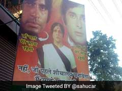 'Haha' Tweets PM On <i>Deewar</i> Poster With <i>Swachh Bharat</i> Twist