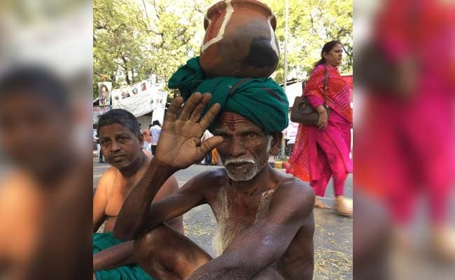 tamilnadu farmers protest