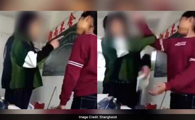 Teacher Slaps Student. She Slaps Her Back. It Doesn't End There