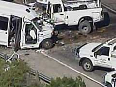 911 Calls Capture The Moments Before A Pickup Truck Crashed Into A Bus, Killing 13