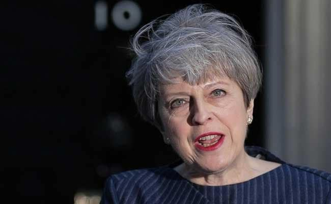 Britain's Theresa May announces shock elections on June 8th