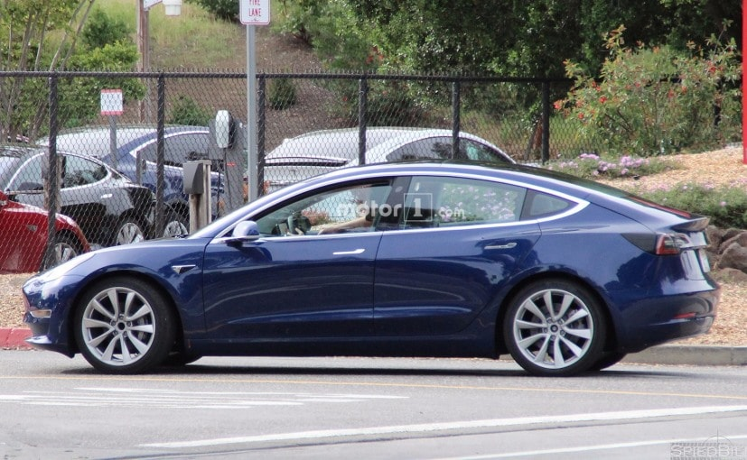 this was the other tesla model 3 spotted recently
