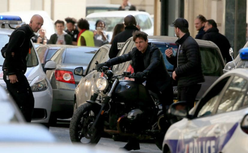 Tom Cruise Rides A Bmw R Nine T In Mi6 Ndtv Carandbike