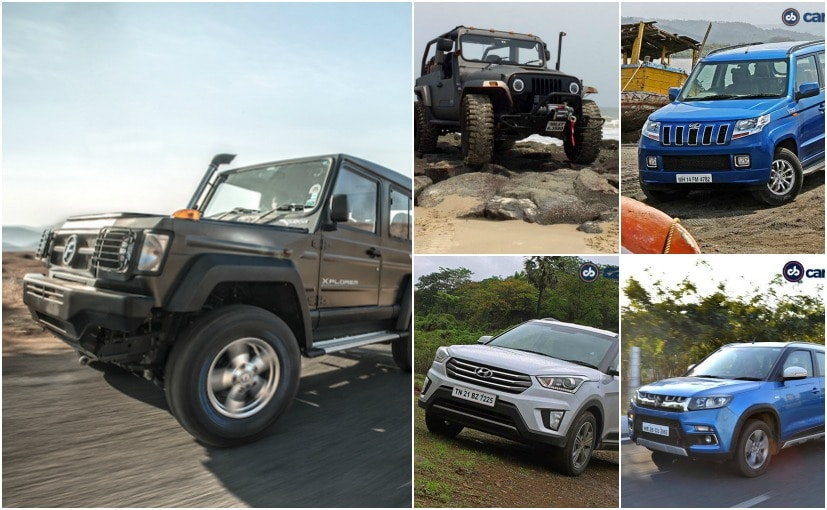 Top 10 SUVs In India Under &#8377 12 Lakh