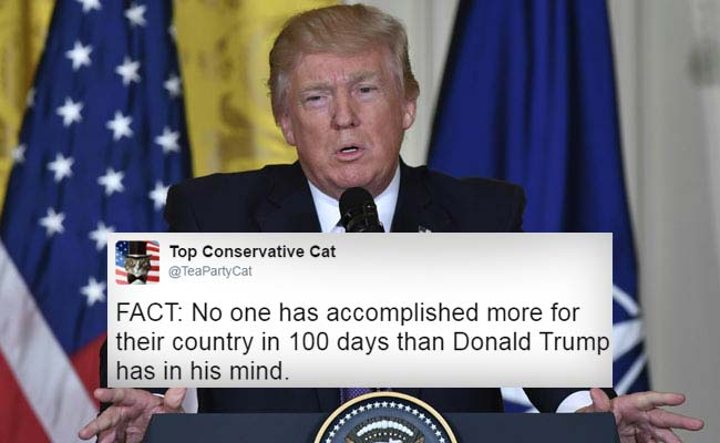 Donald Trump's First 100 Days In Office: How Netizens Reacted