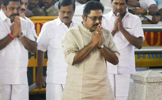 Dhinakaran in fray for RK Nagar bypoll