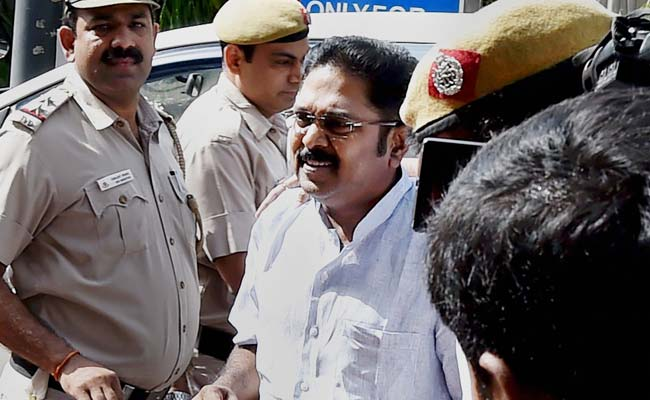 AIADMK Leader Dinakaran Sent To Jail Till May 15